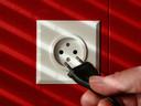 Stroom loop in Europa met een frequentie van 50 Hertz door het elektriciteitsnet