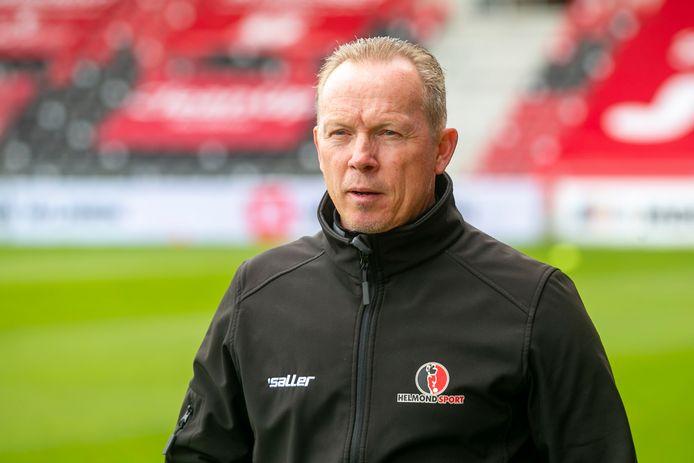 Helmond Sport-trainer Wil Boessen treft vrijdagavond TOP Oss, waar hij zelf in het seizoen 2014-2015 nog werkte.