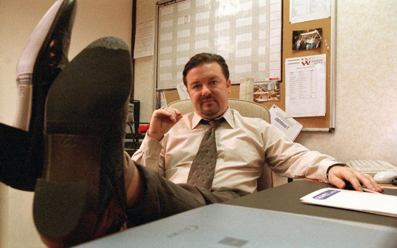 Heeft u een zittend beroep, zoals Ricky Gervais in 'The Office'? Dan weet u nu wat te doen.