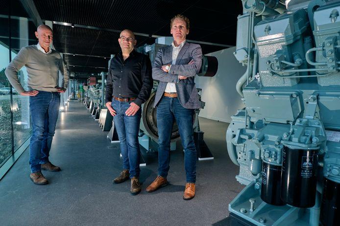 Arie (links) en Bert Koedood stelden twee jaar geleden al Peter Snijders (rechts) aan om gedeeltelijk enkele taken over te namen. Na de overname wordt Snijders de nieuwe algemeen directeur.
