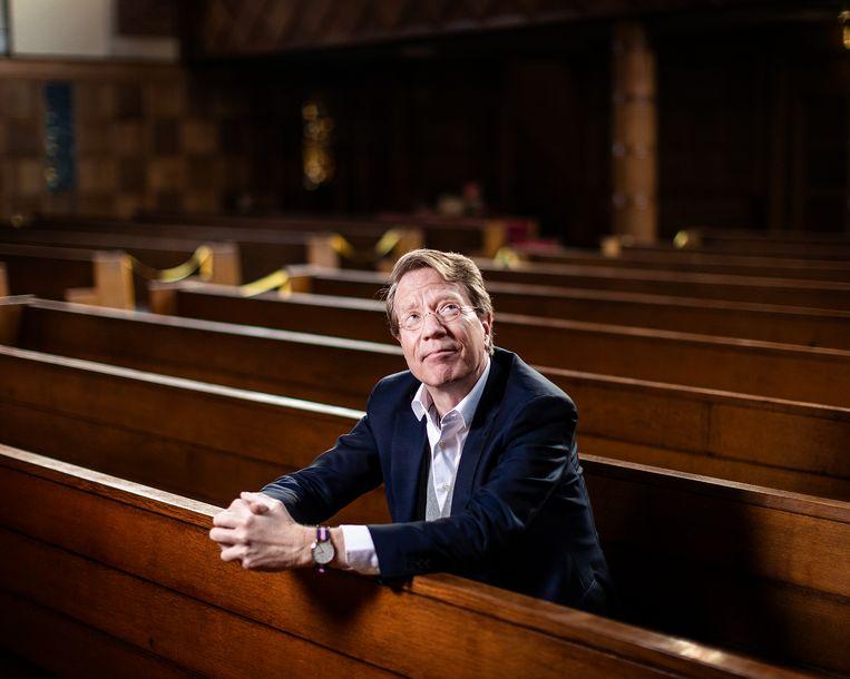 Ad van Nieuwpoort is theoloog, predikant en schrijver.  Beeld Jiri Büller