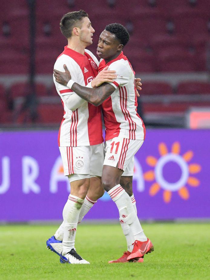 Tadic gaf tegen PSV de assist op de 1-2 van Quincy Promes.