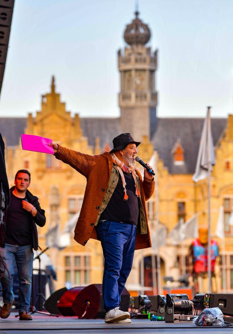 Wim Opbrouck. Beeld Joel Hoylaerts / Photonews