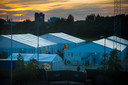 In 2015 richtte Apeldoorn een tentenkamp op om tijdelijk extra vluchtelingen te kunnen opnemen.