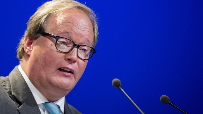 Hans van Baalen, delegatieleider VVD in Brussel.