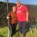Harrie en Nannie van Hoof in 2021.