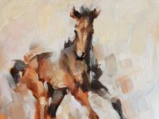 Paardenschilder Catharina Driessen uit Neerkant mag workshops geven in Haags museum