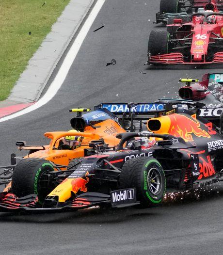 Verstappen zwaar de dupe in Hongarije, Hamilton neemt leiding in WK-stand over