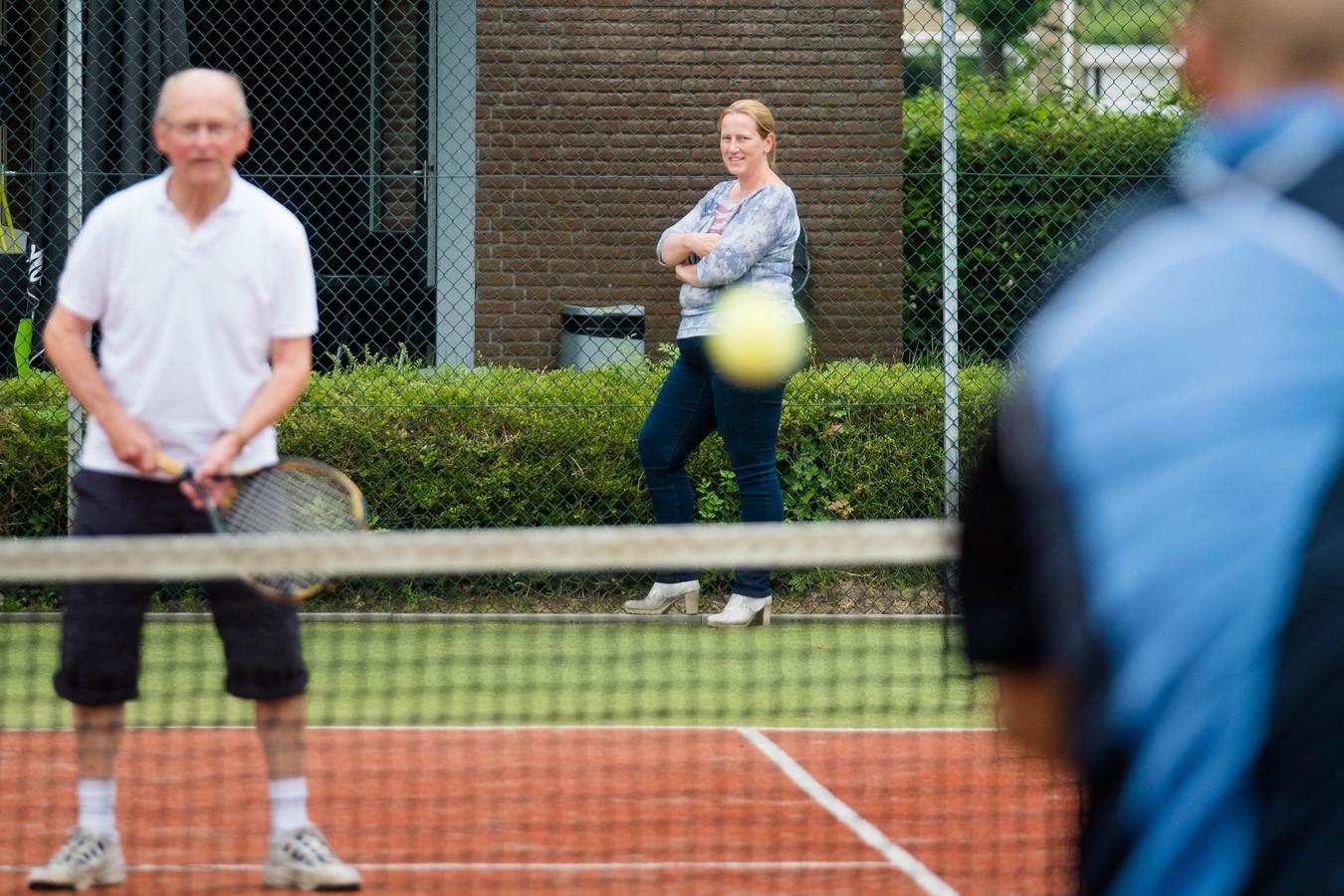 Archiefbeeld van Tennisvereniging Heino.