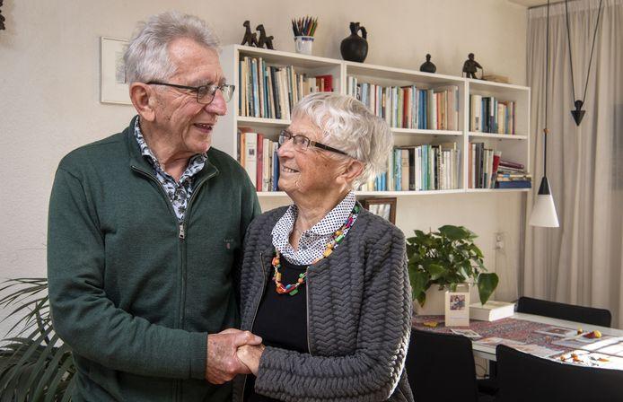 Zestig jaar getrouwd, Wim van den Bosch en Fenny Boessenkool.