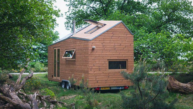 Een 'tiny house' Beeld Lena van der Wal