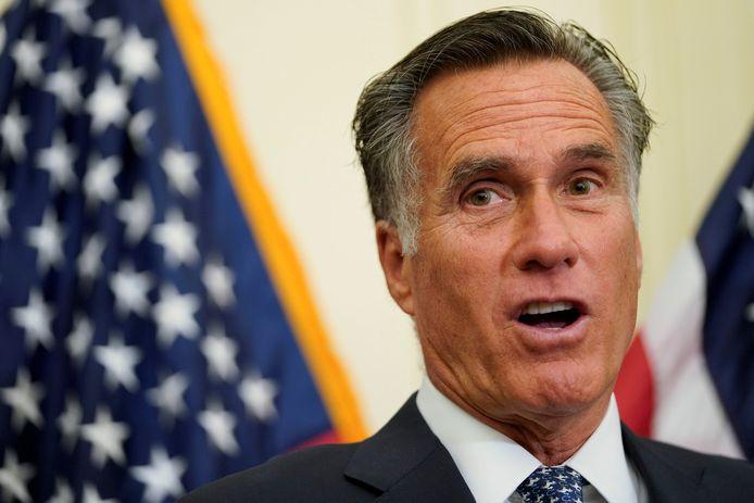 Romney vindt Trump op Twitter net zijn nichtje op Instagram. 'Het is te veel', zegt de politicus.