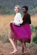 1997 voor Marie Claire in Zuid Afrika. De kleding is van Agnès B Morgan.
