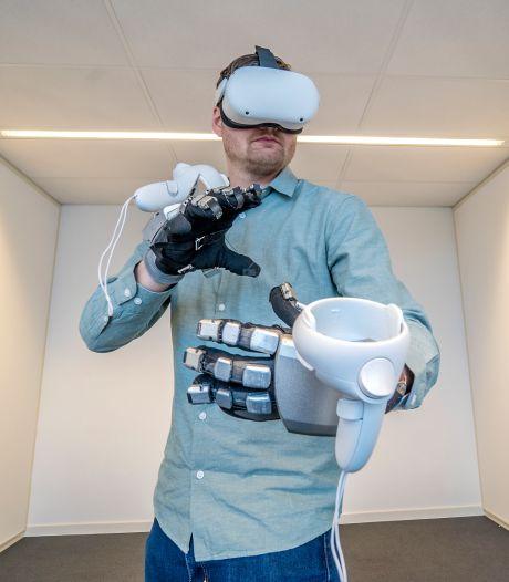 Dankzij deze robotarm is Virtual Reality ook tastbaar: 'Alles wat je door de brillen ziet, kun je nu ook voelen'