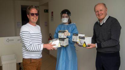 Rotary schenkt 1.000 mondmaskers aan zorgverleners