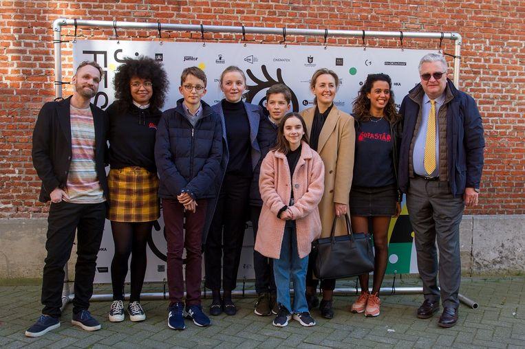 Niet alleenfestivalmeters Tatyana Beloy en Soe Nsuki,maar ookPrins Laurent en zijn gezin woonden de Belgische première bij.