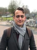 Raphaël (25) uit Utrecht woont sinds 1,5 jaar in Enschede op de campus