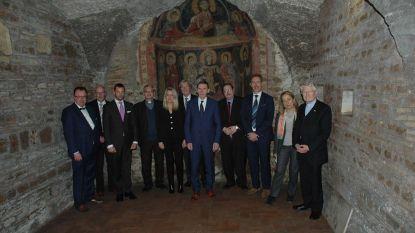 """Burgemeester en schepenen bezoeken catacomben Sint-Hermes in Rome: """"Begin van een unieke samenwerking"""""""