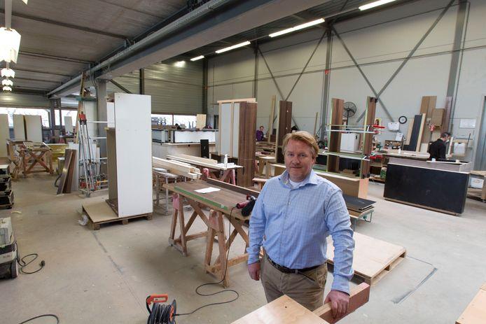 Jan Retera in 2015. Hij verkoopt nu zijn bedrijf Intera Interieurbouw. 'De spreekwoordelijke trein kwam voorbij.'