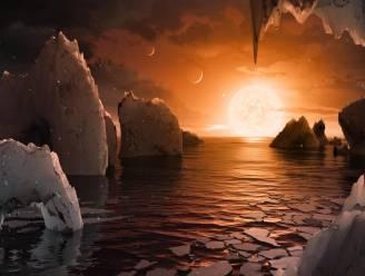 """Belgische wetenschappers: """"Er is leven mogelijk op planeten TRAPPIST-1"""""""