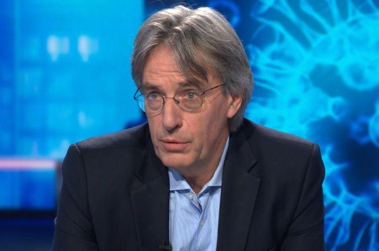 Herman Goossens. Beeld VTM Nieuws.