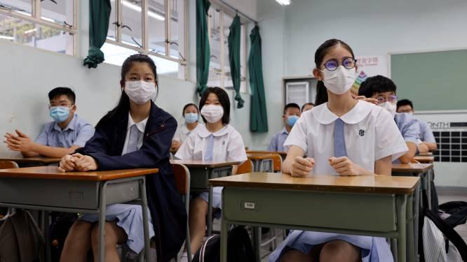 Chinese kinderen krijgen les in gedachtegoed van hun president