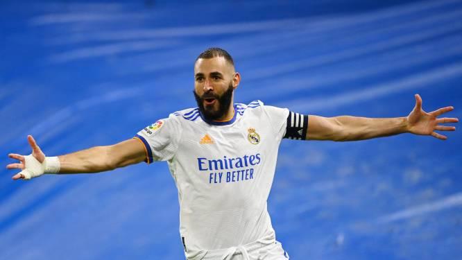 Real Madrid walst over Mallorca dankzij Benzema en Asensio, Eden Hazard blijft op de bank