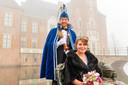 Carnaval 2021 gaat niet door, dus blijven John Bosch en Leonie van Mourik een jaar langer prinsenpaar.