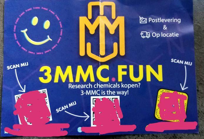 'Volstrekt onaanvaardbaar' noemt burgemeester Joost van Oostrum de flyer voor de designerdrug 3-MMC die deze week in Berkelland in de brievenbus viel.