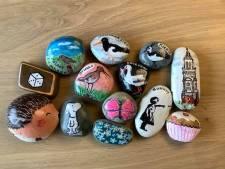 Beschilderde steentjes op bijzondere plekken: nieuwe 'Happy Stones' rage verovert nu ook Nijkerk