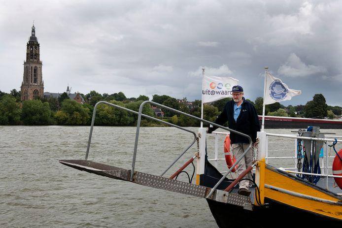 RheLie, het veertje tussen Lienden en Rhenen vaart deze week naar de Gouden Ham.