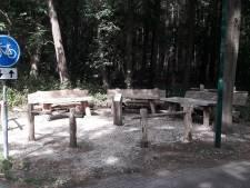 Een prachtig plekje midden in de bossen