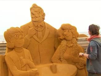 Zandsculpturenfestival dit jaar helemaal in het teken van F.C. De Kampioenen
