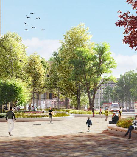 Veel groen moet stationsgebied meer sfeer geven: 'Voetgangers en fietsers krijgen de ruimte'