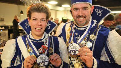 CARNAVAL HALLE: Hart van Carnaval Halle klopt dit jaar ook op pins en medailles