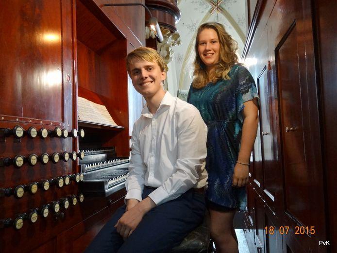 Leendert Verduijn en sopraan Annemarie van Woudenberg