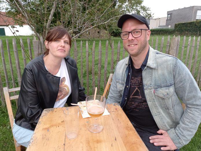 Tinne Vandersmissen (41) en Martijn Lauwens (37) uit Mechelen