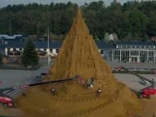 Le plus haut château de sable du monde