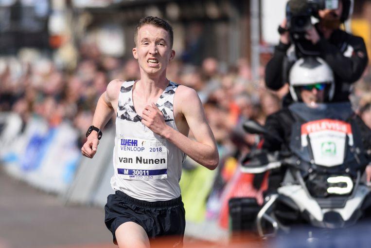 Nederlands kampioen Bart van Nunen. Beeld Hollandse Hoogte / Ed Turk