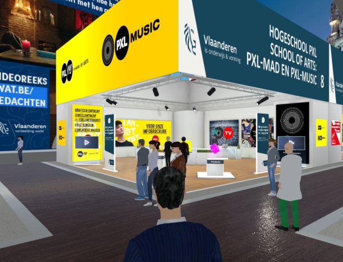 Ook Hogeschool PXL zal aanwezig zijn, digitaal weliswaar.