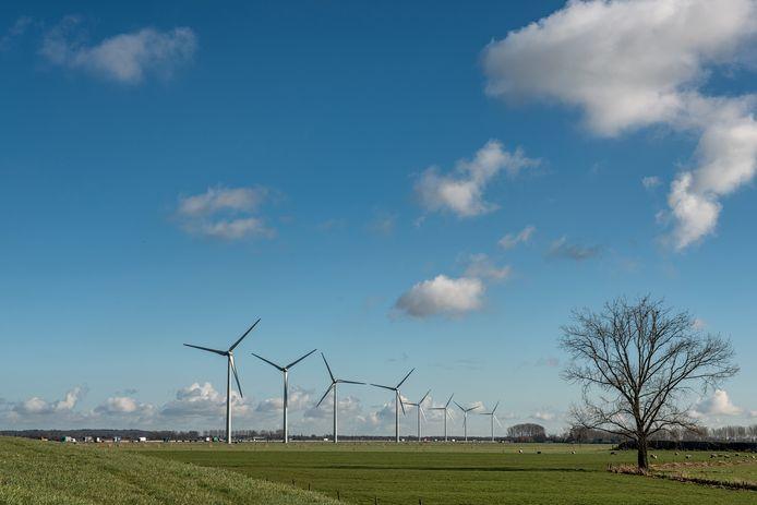 Langs de A15 bij Echteld staan al windmolens. In de toekomst wellicht ook langs de A12 bij Ede, Veenendaal of Renswoude.