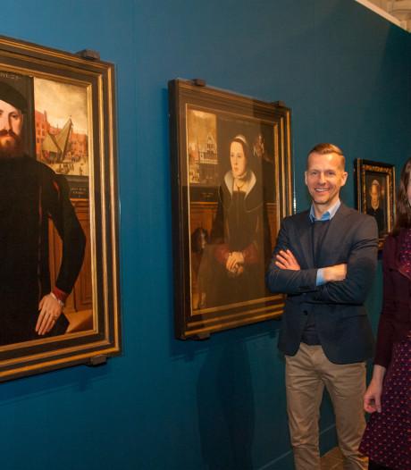 Werk meester-schilder Pieter Pourbus in Museum Gouda