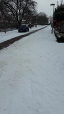De straat van burgemeester Geert van Rumund van Wageningen.