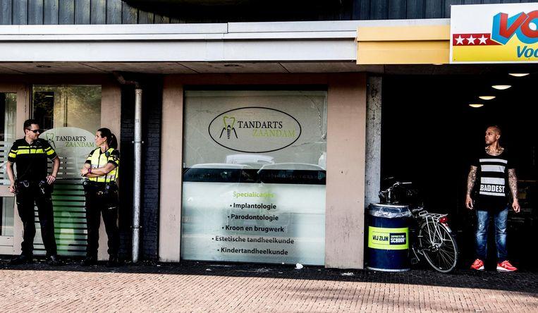 Bij de Vomar in de wijk Poelenburg in Zaanstad. Beeld anp