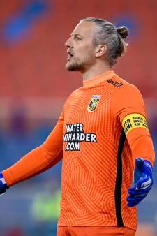 Remko Pasveer vertrekt na seizoen bij Vitesse