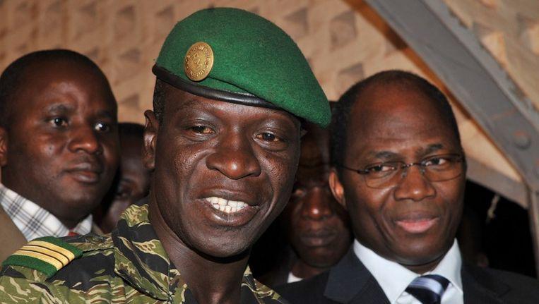 De Malinese coupleider Amadou Sanogo. Beeld afp