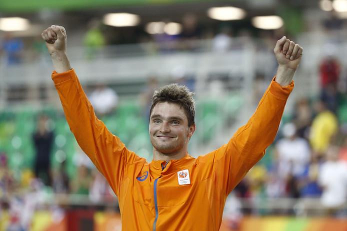 Matthijs Büchli op de Olympische Spelen in Rio.