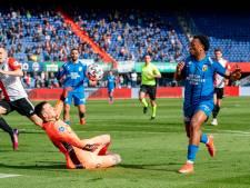 Falende afwerking in De Kuip: Vitesse houdt Feyenoord in leven