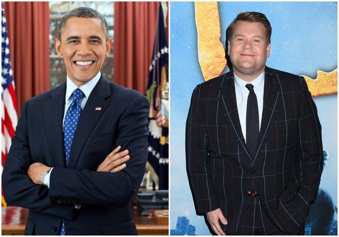 Barack Obama en James Corden