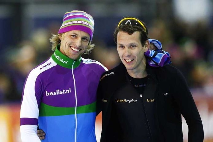 Michel Mulder (links) en Stefan Groothuis.